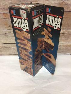 Jenga Blocks Game Milton Bradley MB 1986 New Old Stock   Toys & Hobbies, Games, Board & Traditional Games   eBay!