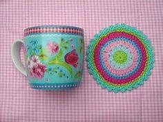 PIP mug with coaster