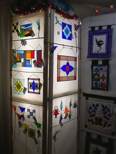A new stained glass display