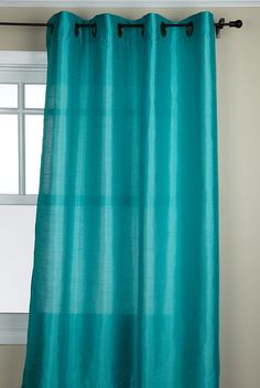 Stylemaster Tribeca 56 by 63-Inch Faux Silk Grommet Panel