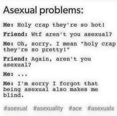 Asexual problems