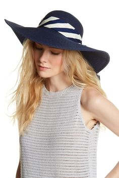 Vince Camuto - Tied Scarf Floppy Hat Hat Hairstyles f4fa95bf186