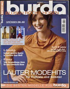 Burda Special Blusen Röcke Hosen F/S 2004