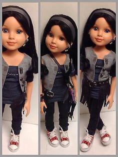 MGA-Best-Friends-Club-Doll-Customized-BFC-INK-Urban-Gear-18-Doll