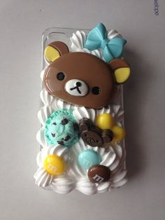 Rilakkuma and mint sweets iphone 4/4s decoden case  by JemDeco, $25.00