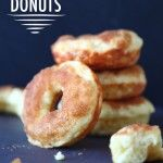 """Donuts that are made with greek yogurt and are baked. Does this qualify as healthfood? Please say """"yes""""."""