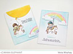 mama elephant | design blog: Unicorns and Rainbows with Vera