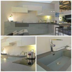 36e8 Kitchen meets Stone Italiana's stone.  Monolito Top  #kitchen #lagodesign #interiordesign
