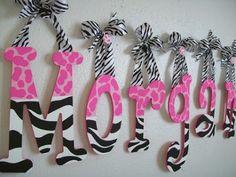 Horton Family Blog: Pink With A Splash of Zebra