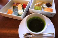 Gion-fondue Japanese style cake of JOUVENCELLE Kyoto