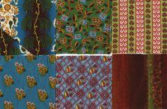 19th century fabric swatchbooks