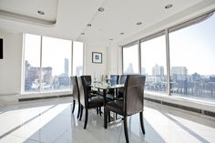 'It's great for hosting parties,' Ms. Jin said of the penthouse, who hosts Fourth of July celebrations with great views of fireworks over the East River. She and her sister, who also lives in the duplex, also recently held a New Year's party at the apartment.