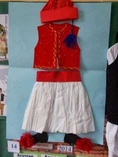 Greek Language, Greek Alphabet, 25 March, Stem Steam, Art Lessons, Cheer Skirts, Apron, Crafts For Kids, Two Piece Skirt Set