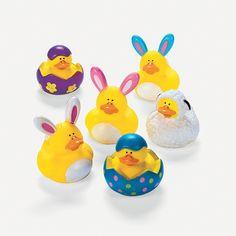 Easter Rubber Duckies - OrientalTrading.com