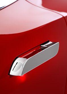Tesla Model S Retractable Door handles