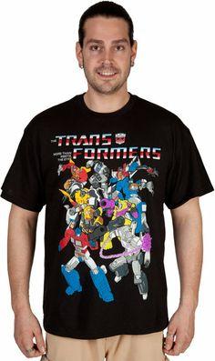 Group Transformers Shirt