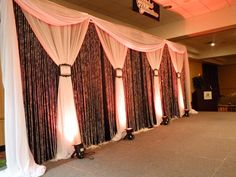 Bridal Show Stage Decor