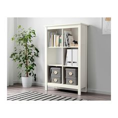 TOMNÄS Shelf unit IKEA Keep your favorite items visible on the open shelves, and hide away everything else in boxes or baskets.