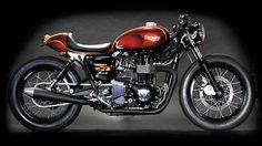 Loving this custom Triumph Bonneville from Deus Ex Machina.