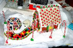 Gingerbread Houses ~ Be Different...Act Normal