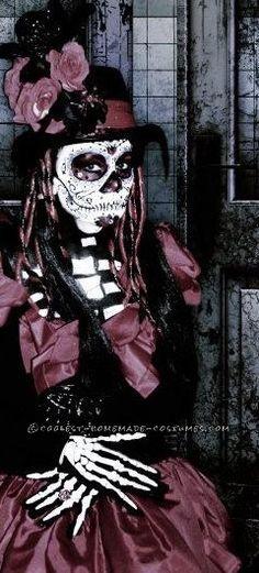 homemade dia de los muertos halloween costume - California Raisin Halloween Costume