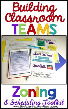 Working with teams in special ed isn't as easy as it sounds. This toolkit has what you need to schedule paraprofessionals, collaborate with teammates, supervise and train paras.