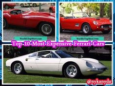 Top 10 Most Expensive Ferrari Cars in the World 2017 - Amazing World !!