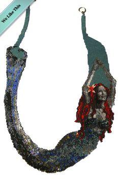 Mermaid on my neck