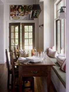 Window Seat Dining Area