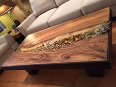 Earthy contemporary coffee table. | Sequoia Santa Fe