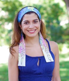 Hair Accessories Boho Headband Festival by ElizabethKoh on Etsy