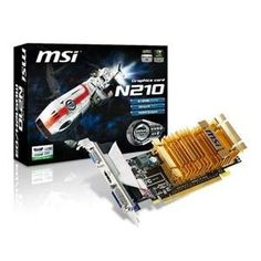 NEW GeForce 210 512MB DDR3 (Video & Sound Cards) by MSI Video. $66.68