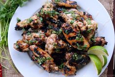 Key West Grilled Chicken Wings - Katie's Cucina   Katie's Cucina