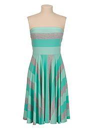 Multi Stripe tube dress - maurices.com