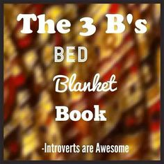 Books in bed under the blanket