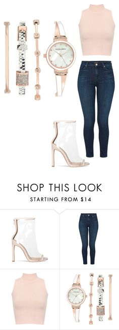 """OOTD #57"" by bonittarebecca ❤ liked on Polyvore featuring J Brand, WearAll and Anne Klein"
