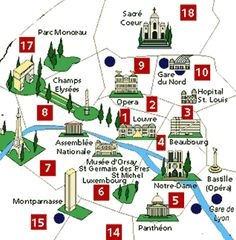 Arrondissement Map of Paris