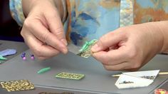 free VIDEO __ Filling Filigree with Polymer Clay    #polymer #tutorial # diy #filigree #christifriesen
