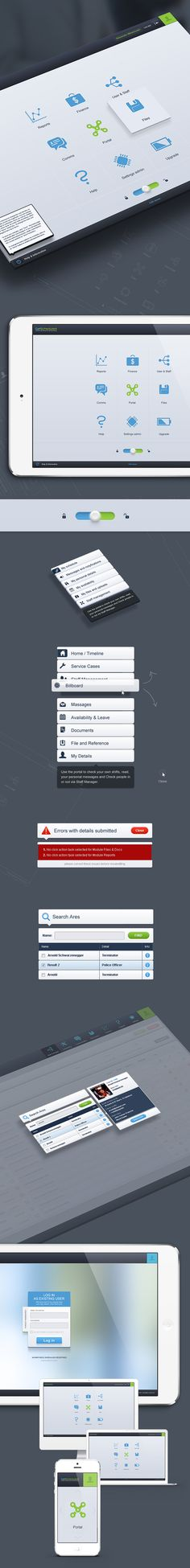 52 Innovative UI Design Concepts to Boost User Experience UI Design Concepts to Boost User Experience: Online Workforce Scheduling App UI by Mariusz Onichowski Mobile Application Design, Mobile Ui Design, Gui Interface, User Interface Design, Graphisches Design, Design Concepts, Graphic Design, Ui Kit, Apps
