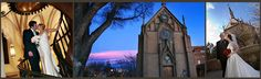 bodas Santa Fe en la capilla de Loretto en Santa Fe, Nuevo México