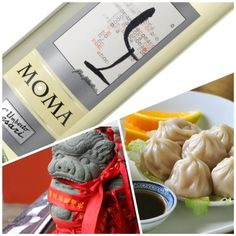 Dumplings and MOMA White, a good combination! #MOMA