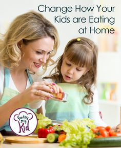 Find out how to help your picky eater turn into an adventurous foodie. Change How Your Kids eat at home.