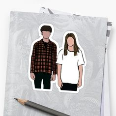 Buy 'The end of the F***ing World' by alyssadrake as a Sticker, Transparent Sticker, or Glossy Sticker The End, End Of The World, Tv Shows 2017, Ing Words, Twenty One Pilots Wallpaper, Black And White Stickers, World Wallpaper, World Quotes, About Time Movie