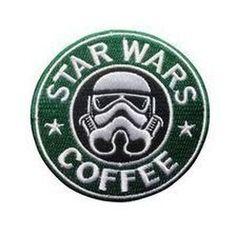 #Embroidery #Starwars #Coffee #Bordado
