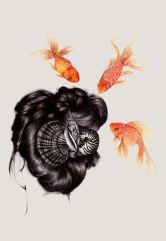 hair and fish 3