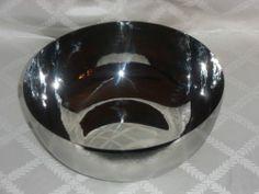 ATTICUS PLACID LARGE SILVER BOWL - 872983001240