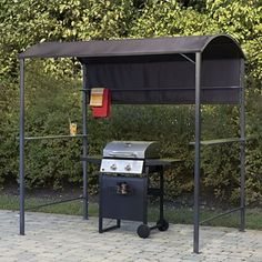 Steel BBQ Grill Gazebo from Through the Country Door | NI733396