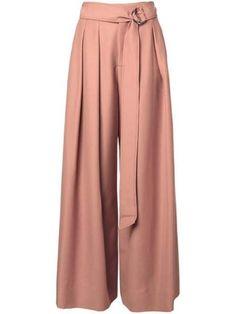 Palazzo Pants Outfit For Work. 14 Budget Palazzo Pant Outfits for Work You Should Try. Palazzo pants for fall casual and boho print. Fashion Pants, Hijab Fashion, Fashion Outfits, Indian Designer Outfits, Designer Dresses, Classy Outfits, Cool Outfits, Plazzo Pants, Harem Pants