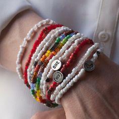One United Against Malaria Bracelet Love Bracelets Fashion Beaded Craft Jewelry