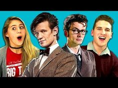 TEENS REACT TO DOCTOR WHO!!!!